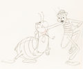 Animation Art:Production Drawing, Hoppity Goes to Town aka ...