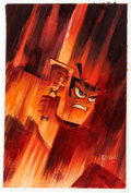 Animation Art:Production Drawing, Samurai Jack Illustration by Bill Wray (Cartoon Network, 2006)....