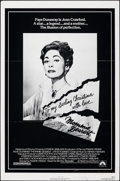 """Movie Posters:Drama, Mommie Dearest & Other Lot (Paramount, 1981). Flat Folded, Fine+. One Sheet (27"""" X 41"""") & Half Sheet (22"""" X 28""""). Drama.. ... (Total: 2 Items)"""