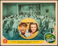 "Movie Posters:Musical, Babes on Broadway (MGM, 1941). Fine+. Lobby Card (11"" X 14""). Musical.. ..."