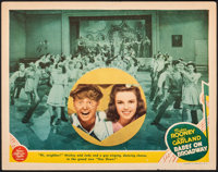 """Babes on Broadway (MGM, 1941). Fine+. Lobby Card (11"""" X 14""""). Musical"""
