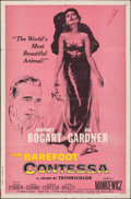 "Movie Posters:Drama, The Barefoot Contessa (United Artists, 1954). Folded, Fine+. One Sheet (27"" X 41""). Drama.. ..."