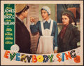"Movie Posters:Musical, Everybody Sing (MGM, 1938). Fine+. Lobby Card (11"" X 14""). Musical.. ..."