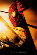 "Movie Posters:Action, Spider-Man (Columbia, 2002). Rolled, Very Fine+. One Sheet (26.75"" X 39.75"") DS, Advance, Withdrawn Twin Towers Style. Actio..."