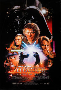 """Star Wars: Episode III - Revenge of the Sith (20th Century Fox, 2005). Rolled, Very Fine. One Sheet (27"""" X 40""""..."""
