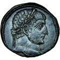 Ancients:Roman Imperial, Constantine I the Great (AD 307-337). AE3 (17mm, 11h). NGC...