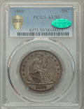 Seated Half Dollars, 1889 50C AU50 PCGS. CAC. PCGS Population: (10/149 and 0/3+). NGC Census: (3/88 and 0/0+). CDN: $800 Whsle. Bid for problem-...