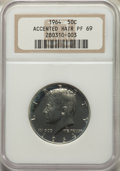 1964 50C Accented Hair PR69 NGC. NGC Census: (290/0). PCGS Population: (54/0). CDN: $950 Whsle. Bid for problem-free NGC...