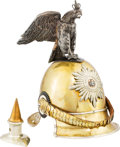 Militaria:Helmets, Prussian Model 1843 Enlisted Man's Garde du Corp Helmet.... (Total: 2 )