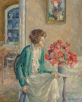 Paintings, George Laurence Nelson (American, 1887-1978). A Moment in Sunlight. Oil on canvas. 20 x 16 inches (50.8 x 40.6 cm). Sign...