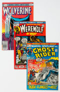 Bronze Age (1970-1979):Miscellaneous, Silver-Modern Age Comics Box Lot (Various Publishers, 1960s-90s) Condition: Average VG....