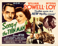 """Song of the Thin Man (MGM, 1947). Folded, Fine+. Half Sheet (22"""" X 28"""") Style B"""