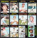Baseball Cards:Sets, 1971 Topps Baseball Near Set (750/752). ...
