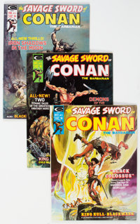 Savage Sword of Conan Group (Marvel, 1974-80) Condition: Average VF/NM