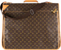 "Luxury Accessories:Travel/Trunks, Louis Vuitton Brown Monogram Coated Canvas Garment Bag. Condition: 2. 23"" Width x 39"" Height x 4.5"" Depth. ..."