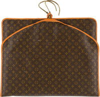 """Louis Vuitton Garment Bag with Hooks Condition: 3 24"""" Width x 40"""" Height"""