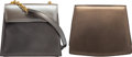 Luxury Accessories:Bags, Salvatore Ferragamo Set of Two: Metallic Shoulder Bags. Condition: 3. See Extended Condition Report for Sizes.... ... (Total: 2 )