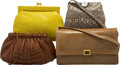Luxury Accessories:Bags, Judith Leiber Set of Four: Alligator, Lizard and Leather Evening Bags . Condition: 4. See Extended Condition Report fo... (Total: 4 Items)