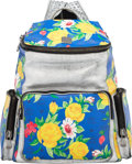 "Luxury Accessories:Bags, MCM Paradiso Floral Studded Backpack. Condition: 3. 16"" Width x 18.5"" Height x 8"" Depth. ..."