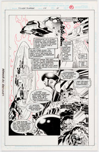 Tom Grindberg and Bill Anderson Silver Surfer #114 Story Page 14 Original Art (Marvel, 1996)