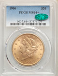 Liberty Double Eagles, 1900 $20 MS64+ PCGS. CAC. PCGS Population: (10735/464). NGC Census: (6993/360). MS64. Mintage 1,874,584....