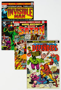 Marvel Bronze Age Group of 19 (Marvel, 1970s) Condition: Average NM.... (Total: 19 Comic Books)