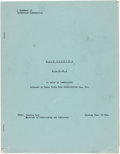 Memorabilia:Disney, Bambi Handbook of Production Information 9 Pages (Walt Disney, 1942)....