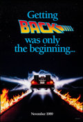 """Movie Posters:Science Fiction, Back to the Future Part II (Universal, 1989). Rolled, Very Fine+. One Sheet (26.75"""" X 39.75"""") SS, Advance, Style B. Drew Str..."""