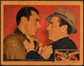 "Movie Posters:Crime, Racket Busters (Warner Bros., 1938). Fine. Linen Finish Lobby Card (11"" X 14""). Crime.. ..."