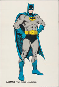"""Batman (National Periodical Publications, 1966). Folded, Very Fine-. Poster (30"""" X 40""""). Carmine Infantino and..."""