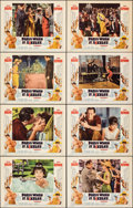 """Movie Posters:Romance, Paris When It Sizzles (Paramount, 1964). Very Fine+. Lobby Card Set of 8 (11"""" X 14""""). Romance.. ... (Total: 8 Items)"""