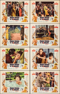"""Paris When It Sizzles (Paramount, 1964). Very Fine+. Lobby Card Set of 8 (11"""" X 14""""). Romance. ... (Total: 8 I..."""