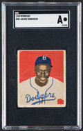 Baseball Cards:Singles (1940-1949), 1949 Bowman Jackie Robinson #50 SGC Authentic....