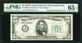 Fr. 1960-J $5/$10 1934D Federal Reserve Note. PMG Gem Uncirculated 65 EPQ