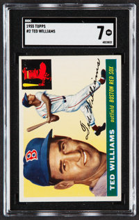 1955 Topps Ted Williams #2 SGC NM 7