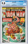 Iron Man #84 (Marvel, 1976) CGC NM/MT 9.8 White pages