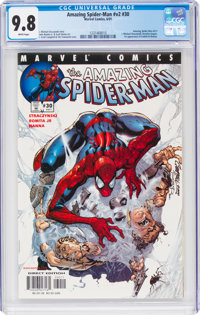 The Amazing Spider-Man V2#30 (Marvel, 2001) CGC NM/MT 9.8 White pages
