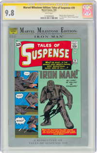 Marvel Milestone Edition: Tales of Suspense #39 Signature Series - Stan Lee (Marvel, 1993) CGC NM/MT 9.8 White pages