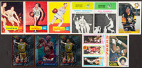 1957-1996 Topps, Fleer and O-Pee-Chee Basketball And Hockey Collection (11). ... (Total: 11 items)