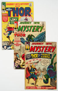Journey Into Mystery Group of 6 (Marvel, 1963-65) Condition: Average GD+.... (Total: 6 Comic Books)