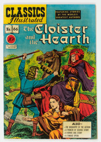 Classics Illustrated #66 The Cloister and the Hearth - First Edition (Gilberton, 1949) Condition: VF+
