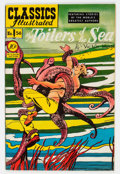 Golden Age (1938-1955):Classics Illustrated, Classics Illustrated #56 Toilers of the Sea - First Edition (Gilberton, 1949) Condition: VF....