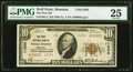 National Bank Notes:Montana, Wolf Point, MT - $10 1929 Ty. 2 The First National Bank Ch. # 11036 PMG Very Fine 25.. ...