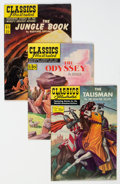 Golden Age (1938-1955):Classics Illustrated, Classics Illustrated First Editions Group of 15 (Gilberton, 1951-54) Condition: Average FN-.... (Total: 15 Comic Books)
