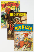 Golden Age (1938-1955):Western, Red Ryder Comics Group of 36 (Dell, 1948-57) Condition: Average VF/NM.... (Total: 36 Comic Books)