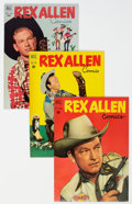 Golden Age (1938-1955):Western, Rex Allen Comics #1-31 Complete Series Group (Dell, 1951-58) Condition: Average VF/NM.... (Total: 31 Comic Books)