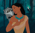 Animation Art:Presentation Cel, Pocahontas Feature Animation Cast Member Only Presentation Cel (Walt Disney, 1995). ...