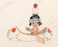 Animation Art:Color Model, Little Hiawatha Animation Color Model Drawing (Walt Disney, 1937)....
