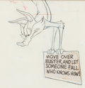 Animation Art:Production Drawing, Bugs Bunny's Looney Christmas Tales ...