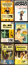 "Movie Posters:James Bond, James Bond Book Lot (Pan Books, 1958-1969). Fine+. Paperback Books (43) (Multiple Pages, 4.5"" X 7""). James Bond.. ... (Total: 43 Items)"